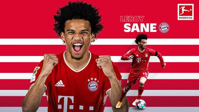 Berita video bintang Bayern Munchen, Leroy Sane dan para pencetak gol jarak jauh terbaik di Bundesliga 2020/2021 sementara ini.