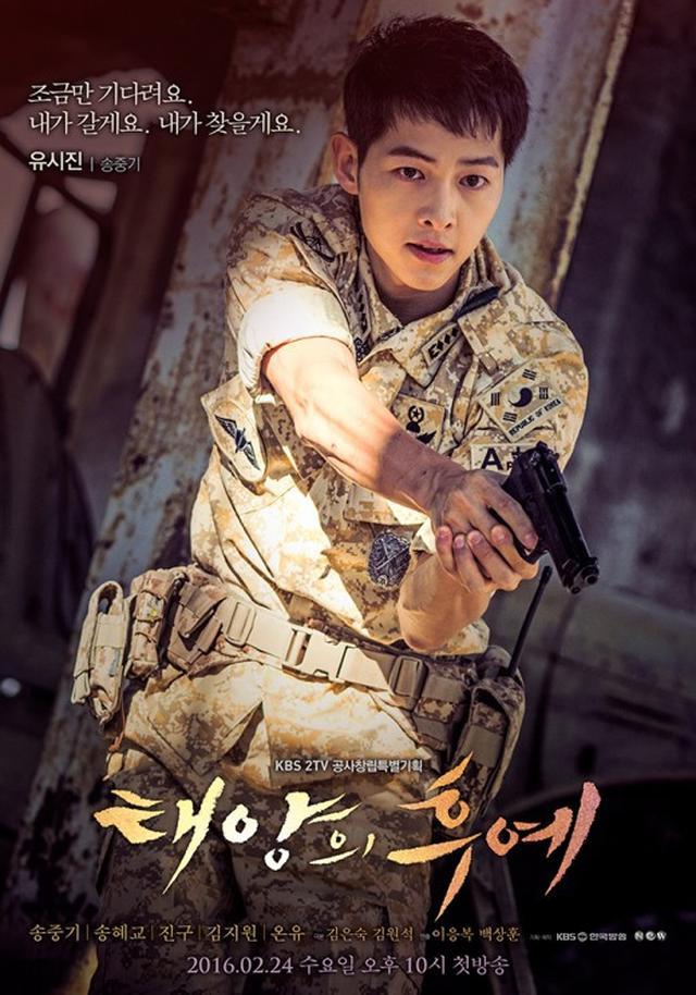 Song Joong Ki dalam Descendants of the Sub. (KBS)