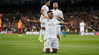 Wonderkid Real Madrid, Rodrygo sukses mencetak hattrick ke gawang Galatasaray pada laga lanjutan Liga Champions, Kamis (7/11/2019). (Dok. Twitter/realmadrid)