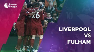 Berita video Mohamed Salah cetak gol, Liverpool menang atas Fulham di Anfield Minggu (11/11/2018) malam WIB