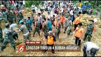 Pencarian korban longsor di Kabupaten Toba Samosir, masih terus dilakukan oleh tim gabungan. Hingga kini alat berat sudah tiba di lokasi.