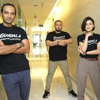 Media visit pemain film Gundala (Bambang E. Ros/Fimela.com)