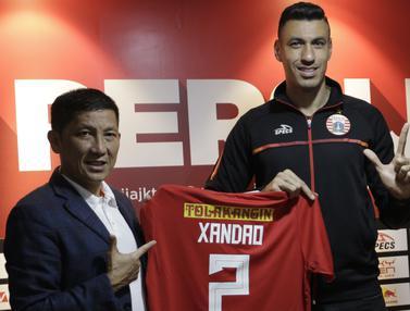 FOTO: Mantan Bek Sporting CP Gabung Persija Jakarta
