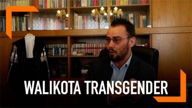 Italia memiliki Wali Kota transgender pertama bernama Gianmarco Negri