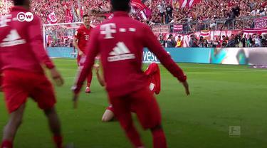 Berita video momen perpisahan Franck Ribery dengan Bayern Munchen dan suporter berlangsung manis dan mengharukan pada laga terakhir tim di Bundesliga 2018-2019.