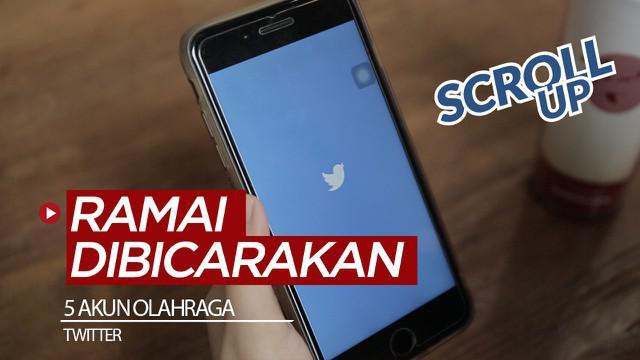 Berita video Scroll Up kali ini membahas akun-akun olahraga di media sosial Twitter yang ramai dibicarakan sepanjang 2019.