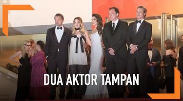 Leonardo DiCaprio dan Brad Pitt tampil kompak di Festival Film Cannes. Keduanya hadir untuk pemutaran perdana film baru mereka berjudul Once Upon a Time in Hollywood.