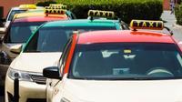Ilustrasi antrean taksi. (Foto: Shutterstock)