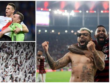 FOTO: Ragam Momen Menarik dari Babak 16 Besar Copa Libertadores