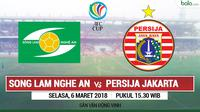 AFC CUP_Song Lam Nghe An Vs Persija Jakarta (Bola.com/Adreanus Titus)