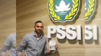 Ilija Spasojevic baru saja mengonfirmasi status kewarnageraannya yang telah berganti menjadi Warga Negara Indonesia (WNI). (Instagram)