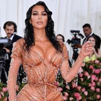 Kim Kardashian di Met Gala 2019 (Instagram @kimkardashian)