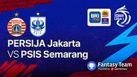 BRI Liga 1 Persija Jakarta vs PSIS Semarang