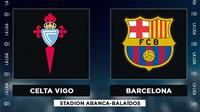 La Liga - Celta Vigo Vs Barcelona (Bola.com/Adreanus Titus)