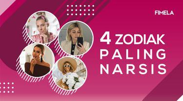 Bukan cuman eksis di media sosial, empat zodiak ini juga paling suka posting foto diri alias narsis. Zodiak mana sajakah? Yuk, cek di video berikut ini!