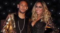 Neymar hadiri ultah adiknya, Rafaella (Instagram /Liputan6)