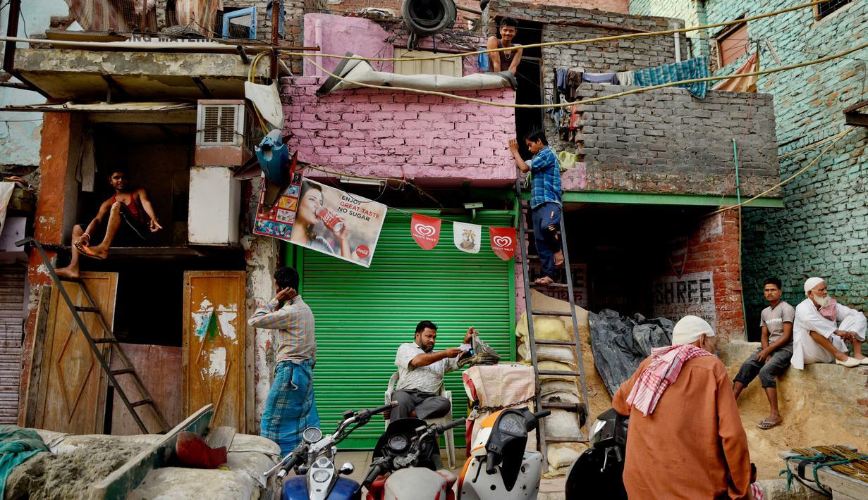 Foto 800 Juta Warga India Hidup Dalam Kemiskinan Global Liputan6 Com