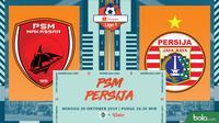 Shopee Liga 1 - PSM Makassar Vs Persija Jakarta (Bola.com/Adreanus Titus)