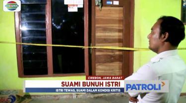 Simpan rasa cemburu hingga ubun-ubun, pria di Cirebon, Jawa Barat, habisi nyawa istri dengan benda tumpul.