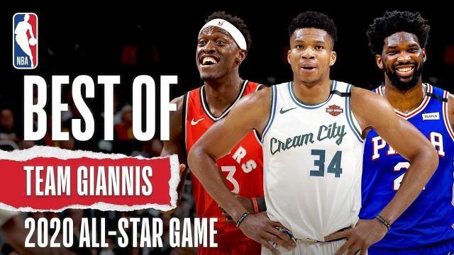 Berita Video Cuplikan Aksi Terbaik Tim Giannis Antetokounmpo Jelang NBA All Star Game 2020