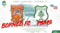 Jadwal Liga 1 2018, Pusamania Borneo FC Vs PSMS Medan. (Bola.com/Dody Iryawan)