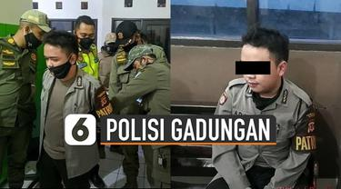 Modusnya terbongkar kala ia menilang pemotor yang ternyata anggota TNI.