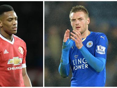 Hasil studi yang dilakukan EA Sports' Player Performance Index, striker Manchester United, Anthony Martial dan penyerang Leicester, Jamie Vardy menjadi yang tercepat di Premier League. Kecepatan yang dicapai keduanya menembus angka 22 mil/jam.