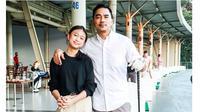 6 Potret Kebersamaan Enda Ungu dan Putri Sulungnya, Bak Kakak Adik (Sumber: Instagram/mr_enda_ungu)