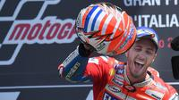 4. Andrea Dovizioso (Ducati) - 1,3 juta Follower. (EPA/Luca Zennaro)