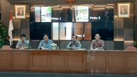 Kepala Batan, Anhar Riza Antariksawan (kedua dari kiri). (Liputan6.com/Pramita Tristiawati)