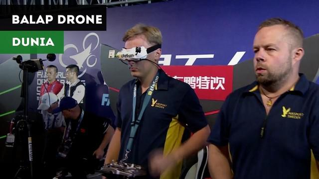 Berita Video Anak 15 Tahun Juara World Drone Championship 2018