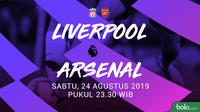 Premier League - Liverpool Vs Arsenal (Bola.com/Adreanus Titus)