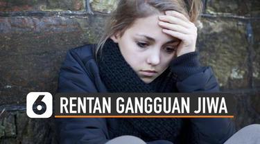 Psikiater ungkap remaja sangat rentan alami gangguan kejiwaan. Sebab sedang mengalami proses pencarian identitas diri.
