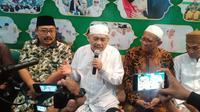 Pengurus Wilayah Nahdlatul Ulama (PWNU) Jawa Timur (Jatim) mengambil sikap tegas mengenai polemik ucapan selamat Natal (Liputan6.com/ Dian Kurniawan)
