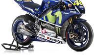 Yamaha menurukan YZR-M1 model 2015 untuk digeber Valentino Rossi dan Jorge Lorenzo.