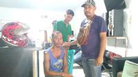 Seorang pria di Dompu ditangkap usai diduga mencabuli gadis muda. (Foto: Liputan6.com/Miftahul ID)