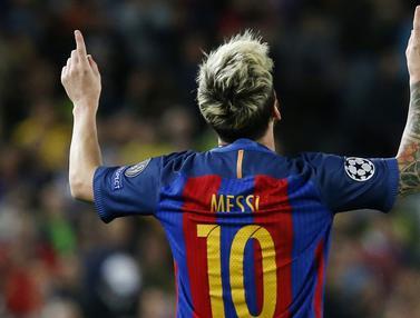 Lionel Messi Pimpin Klasemen Sementara Pencetak Gol Terbanyak Liga Champions 2016