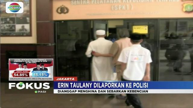 Istri diduga hina Prabowo Subianto di media sosial, Andre Taulany mengaku akun Erin diretas orang tak dikenal.