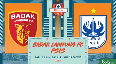 Perseru Badak Lampung FC Vs PSIS Semarang