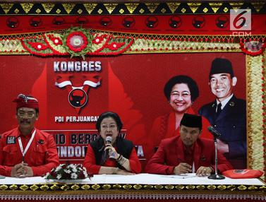 Sah, Megawati Kembali Jabat Ketua Umum PDIP