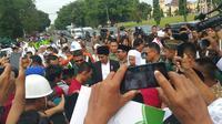 Presiden Jokowi di Pendopo Kabupaten Pekalongan. (Liputan6.com/Fajar Eko Nugroho)