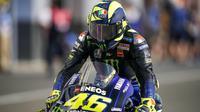 Rider Monster Energy Yamaha, Valentino Rossi di MotoGP Qatar 2019. (Twitter/MotoGP)