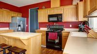 Ilustrasi ruang dapur.