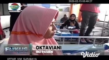 Kasus pasien dengan Demam Berdarah Dengue (DBD) di Kabupaten Jombang, Jawa Timur, terus meningkat. Dinas Kesehatan Pemkab Jombang mencatat, sebanyak 31 warga positif DBD mulai Januari hingga awal Februari 2020.