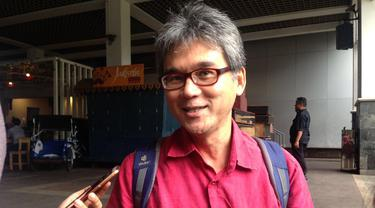 Ketua TGUPP Bidang Pesisir Marco Kusumawijaya (Liputan6.com/Delvira Hutabarat)