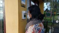 Taman Nasional Kelimutu mendatangkan alat pengukur tubuh baru untuk meminimalisir kontak antara pengunjung dan petugas (dok.instagram/@tamannasionalkelimutu/https://www.instagram.com/p/CL3A9RGHx6b/Komarudin)