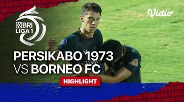 Berita Video, Hasil Pertandingan Persikabo 1973 Vs Borneo FC pada Minggu (17/10/2021)