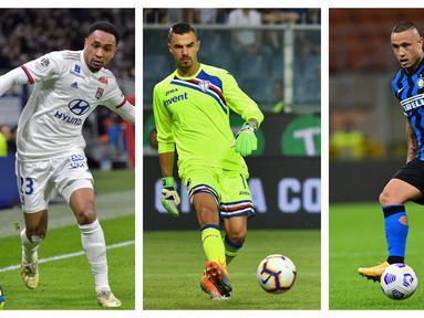 Kumpulan foto-foto sejumlah pesepak bola keturunan Indonesia yang merumput di liga top eropa. (Foto: AFP)