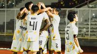 Pelatih Martapura Dewa United, Kas Hartadi, menyayangkan kemenangan tipis 1-0 yang diraih timnya atas Badak Lampung FC pada laga ketiga Grup B Liga 2 2021/2022. (Instagram @dewaunitedfc)