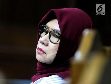 Mantan Dirut Pertamina Karen Agustiawan Jalani Sidang Pemeriksaan Saksi